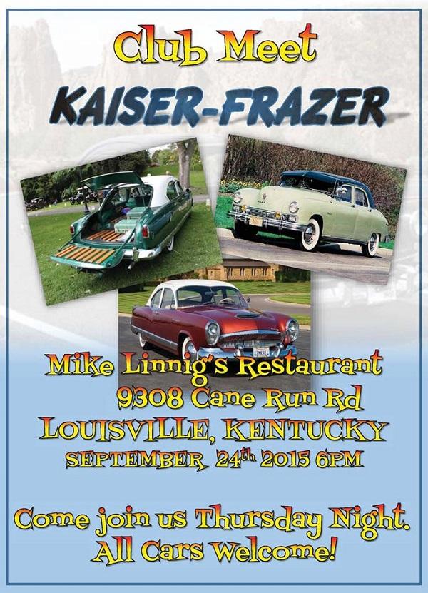 September Car Shows In Kentucky